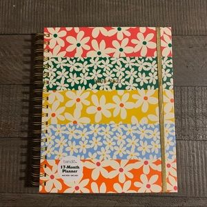 2021- Ban.do 17 Month Monthly Planner Daisy
